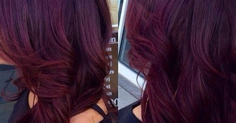 If You've Always Wanted That Burgundy Hair Color, But