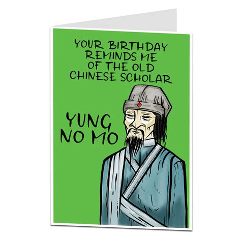 funny birthday card age joke perfect
