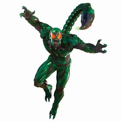 Scorpion Villains Spider Ps4 Marvels Playstation Rhino