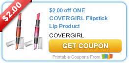covergirl printable coupons new printable 2 00 one covergirl flipstick 21215 | covergirl flipstick printable coupon