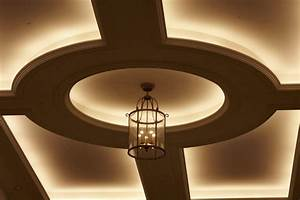 Led strip lighting and rope lights traditional ceiling