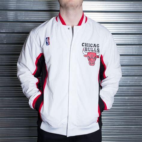 mitchell ness nba chicago bulls white   authentic