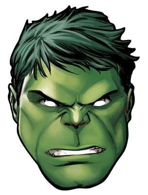 hulk  marvels  avengers single card party face