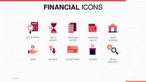 Financial Icons PowerPoint Template | Free Download