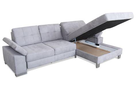 Sofa Mit Schlaffunktion by Ecksofa Grau Sofas Zum Halben Preis