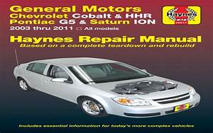 2007 Chevy Cobalt Owners Manual Pdf