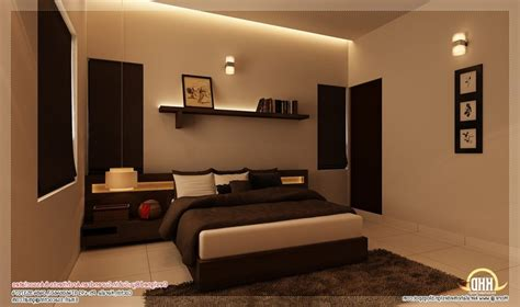 in home room bedroom interior design in kerala