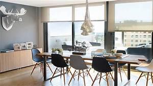 la salle a manger adopte le style scandinave With salle À manger contemporaine avec meuble design scandinave
