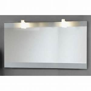 miroir sati 120 cm achat vente miroir salle de bain With miroir salle de bain 120 cm