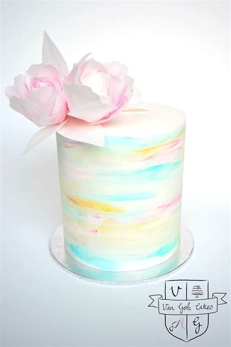 water color cake 1000 ideas about watercolor cake on cakes