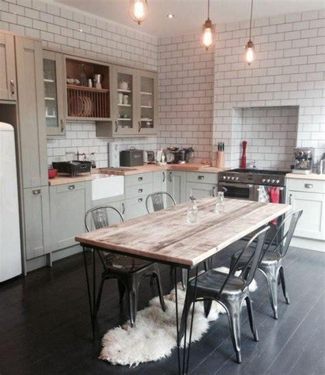 carrelage vintage cuisine 1000 idées à propos de tables en carrelage sur
