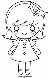 Coloring Clip Sweetclipart sketch template