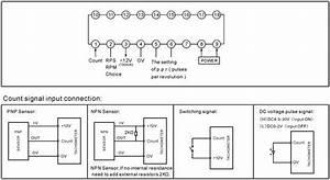 T9z-6 Rpm Rps Digital Tachometer Motor Speed Meter
