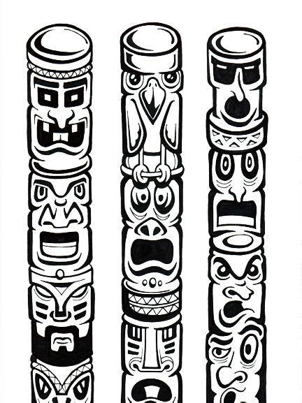 Tiki Totem Templates by Tiki Craft Templates Templates Http