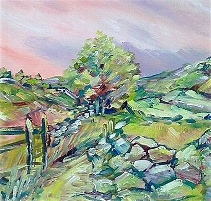 Landscapes Painted January Zoom