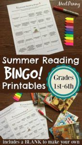 Create Your Own Summer Reading Program Printables ...