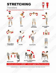 Printable Stretching Guides Royalty Free