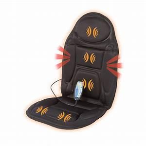 Siege Massant Chauffant : si ge massant back massager lanaform la110304 129 43 ~ Premium-room.com Idées de Décoration