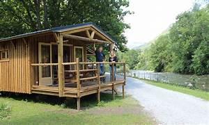 Cabane En Bois : camping des gaves location cabane en bois chalet ~ Premium-room.com Idées de Décoration