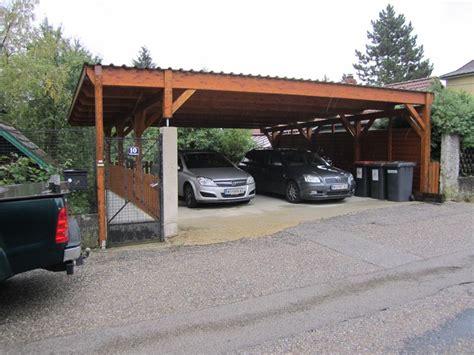 Carportvordach Lengauer  Holzbau  3433 Königstetten