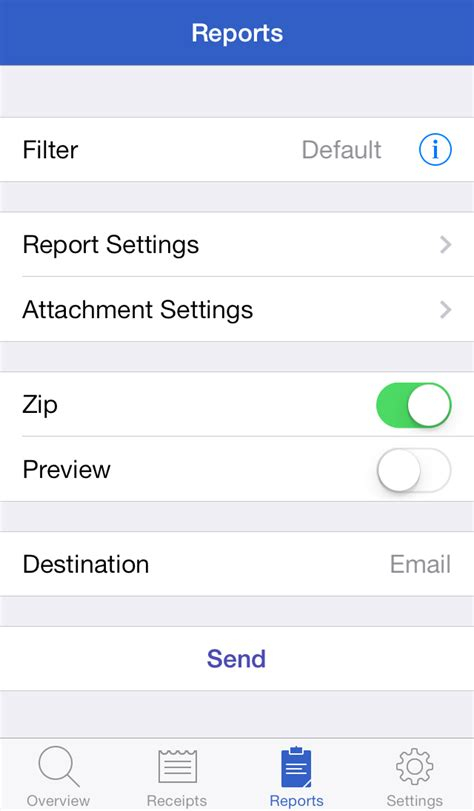 receipts iphone evernote app center