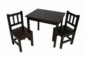 3 Piece Kids Table and Chairs Set - eHemco