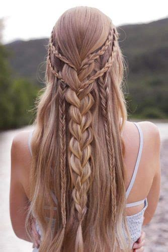 prom hairstyles for long hair to look gorgeous crazyforus