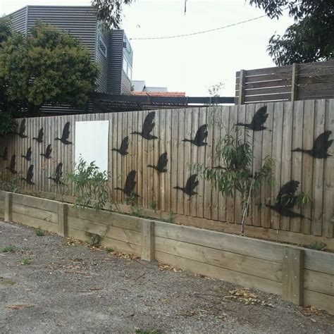 backyard fence decor 55 who took their backyard fences to another level