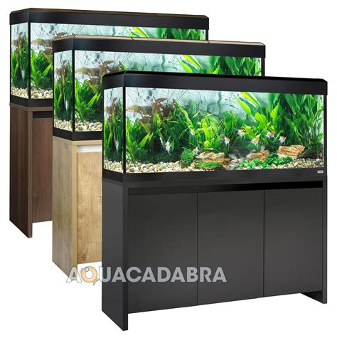fluval tanks fluval roma led aquariums 90 125 200 240l oak walnut black