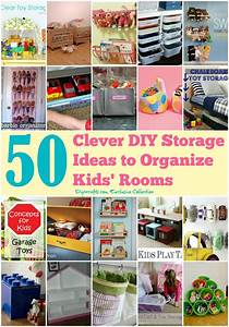 50 Clever DIY Storage Ideas to Organize Kids' Rooms - Page