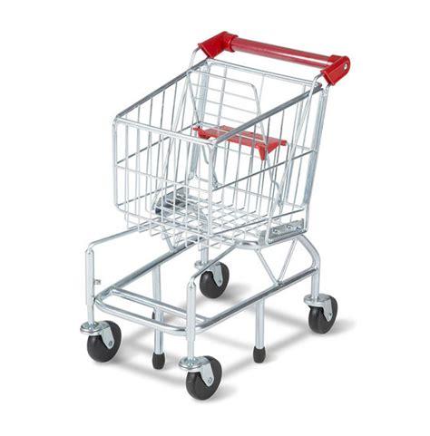 shopping cart toy metal grocery wagon melissa doug