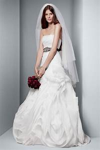white by vera wang wedding dresses modwedding With wang wedding dress