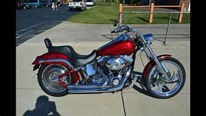 Sold  2001 Harley-davidson Fxstdi Softail Deuce 1868