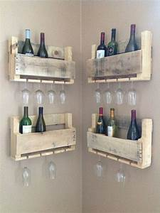 Diy Wood Pallet Wine Rack - WoodWorking Projects & Plans