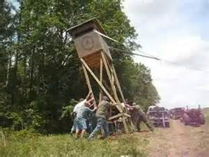 4x6 Deer Stand Plans by Deer Stand Shooting House Towerstand Youtube