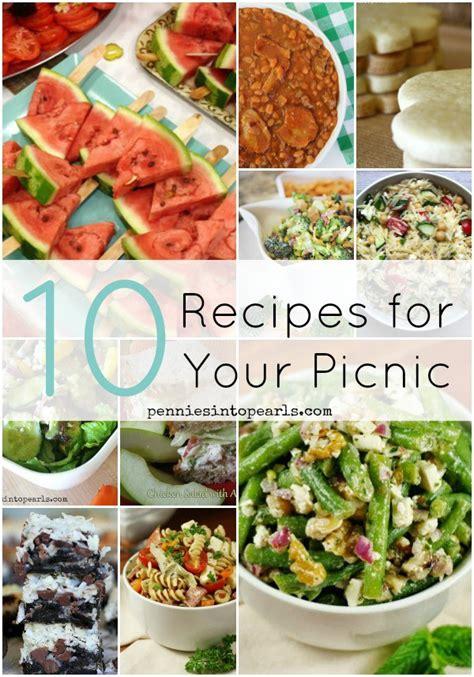 best picnic meals best picnic food recipes