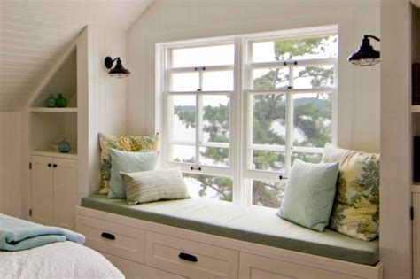 Bedroom Window Seat Ideas by Sullivan Island Cottage Bedroom Window Seat Rustic