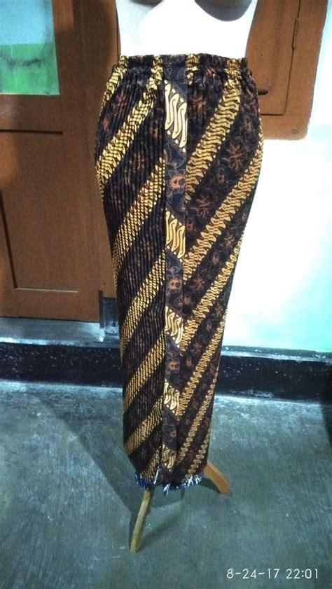 jual rok plisket wiron pengantin domas batik kebaya