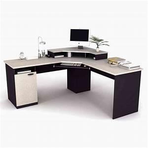 Modern corner desk for home office decor ideasdecor ideas for Contemporary home office desk