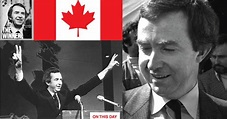 1979, Joe Clark is sworn in as the Youngest Prime Minister ...