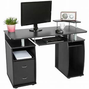 bureau informatique multimedia meuble de bureau pour With meuble ordinateur conforama