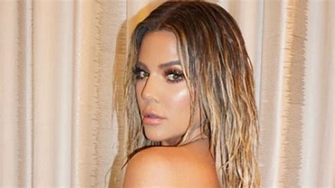 Khloe Kardashian's Wet Hair