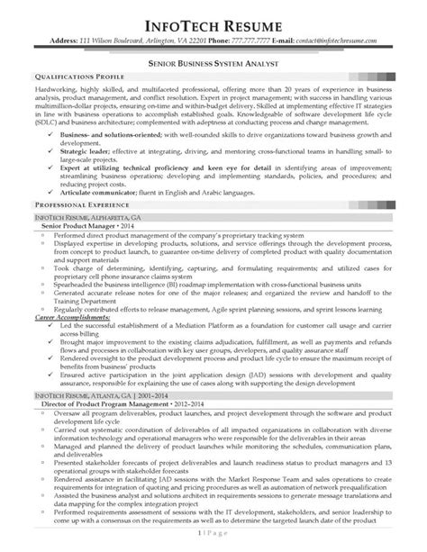 Healthcare Business Analyst Resume Linkedin by Technical Systems Analyst Resume