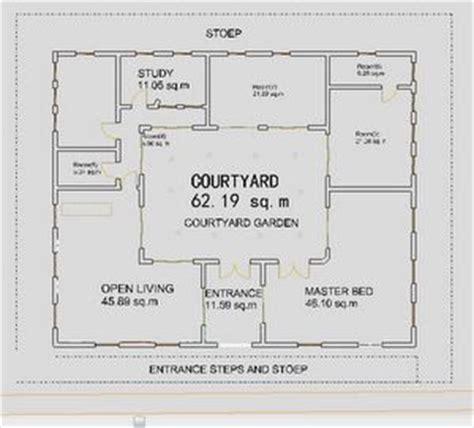 courtyard home  shenandoah valley va area interior   pool house plans courtyard