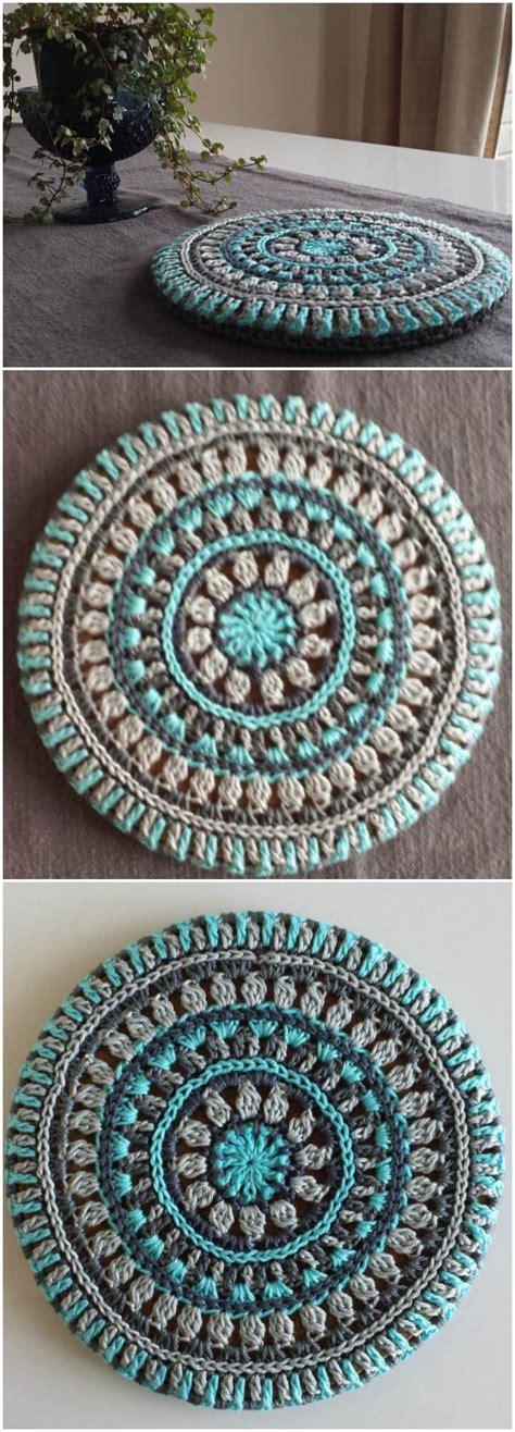 crochet mandala patterns page    diy