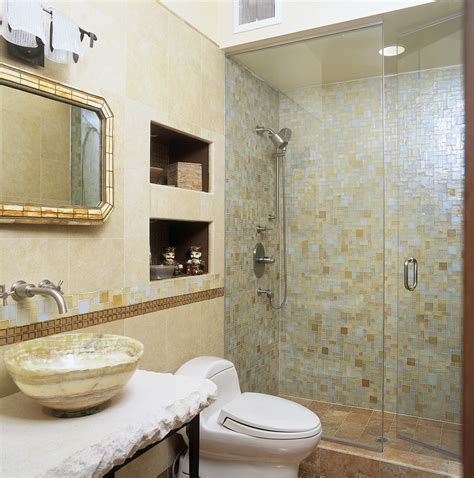 great ideas  pictures  iridescent bathroom tiles
