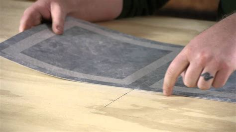 laying vinyl  plywood youtube