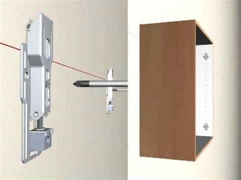 Mounting Cabinets by Avinom Cabinet Hanging System Ch20