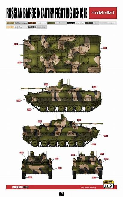 Bmp Russian Infantry Vehicle Fighting Bmp3 Ifv