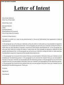 letter of intent example example letter of intent sample With intent to sue letter template